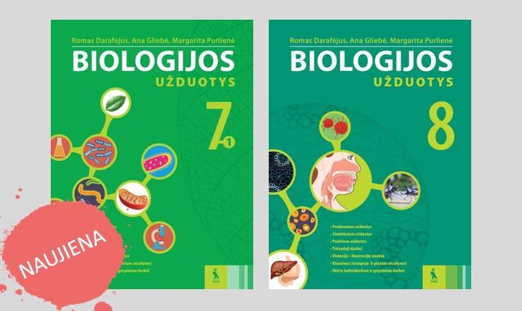 Biologijos uzduociu sasiuviniai 7 ir 8 klasei
